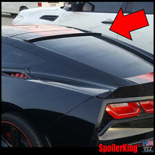 818R StanceNride Rear Roof Spoiler Window Wing (Chevy Corvette 2014-2018 c7)