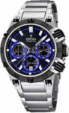 Festina Herren-Armbanduhr XL Tourchrono Chronograph Quarz F16775/D