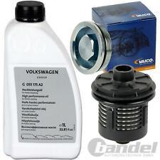 VAICO HALDEX HYDRAULIK FILTER+G055175A2 ÖL VW T5 PASSAT 3C GOLF 5 AUDI A3 8P