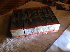 ( 4 ) E90CC Telefunken Tube Akin of E80CC 6211 Duo Triode Long Box-Plate 5920