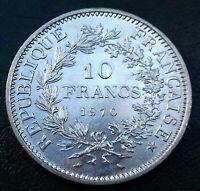 France . 10 Francs Hercule 1970 Variante Avec Accent RARE