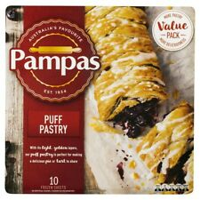 Pampas Frozen Puff Pastry Sheets 10 pack 1.6kg