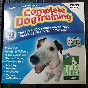 Complete DOG training DVD Video Positive Training Methods sponsor Animal Planet