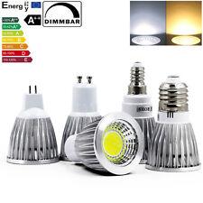 6x 12x Dimmbar 5W 7W 9W MR16 GU10 E27 E14 COB CREE LED Spot Strahler Lampe BIRNE