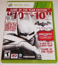 XBox BATMAN ARKHAM CITY Game Of The Year ENG NTSC