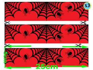 Spider Man Web EDIBLE ICING Strips WRAP   CAKE  IMAGE FROSTING SHEET