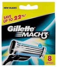 8x Gillette Mach3 Rasierklingen Cartridge Rasierklinge Closer mehr Komfort Shave