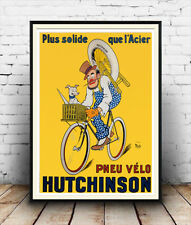 Hutchinson Cycle : Retro Advertising reproduction