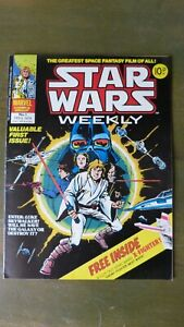 Star Wars Weekly UK comic 1970s Issues 1 - 40 Complete - original Starlord story