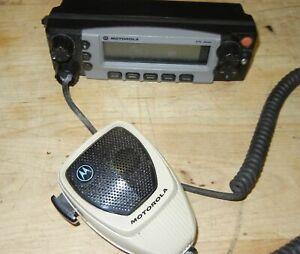 Motorola XTL5000 VHF UHF Silver Radio Control Head model HLN1467E