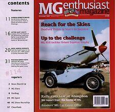 MG Enthusiast Magazine November 1993 - Marathon MGB - Orient Express Challenge