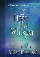 I Hear His Whisper Volume 2: 52 Devotions (The Passion Translation) .. NEW