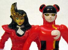 BANDAI vinyl figures TOEI Choujuu Sentai Liveman COLON and DOCTOR MAZENDA 1988