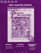 Puntos de Partidas. Workbook, Lab Manual, Supplementary Materials. (First Semes