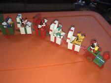 Disney Applause Christmas Train Mickey Minnie Donald Daisy Goofy Pluto Figure