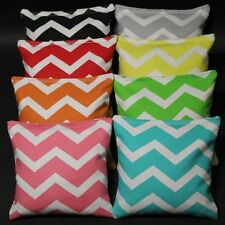 CHEVRON CORNHOLE BEAN BAGS ~ PICK YOUR 2 DESIGNS! Party Wedding 8 Quality Bags