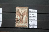 FRANCOBOLLI STAMPS ITALIA COLONIE USATI SOMALIA (F43850)