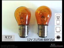 Glühlampen 21/5W 21/5 W P21/5W Blinker Birnen Orange US