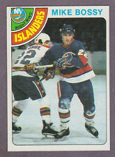 1978-79 Topps Hockey Mike Bossy #115 Rookie Card NY Islanders NM/MT FREE SHIP!