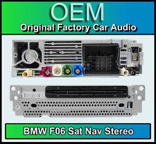BMW 6 Series Gran Coupe stereo, F06 CD player, satellite navigation, DAB radio