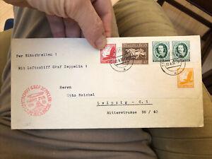 Circa 1936 Germany Graf Zeppelin Postal Cover