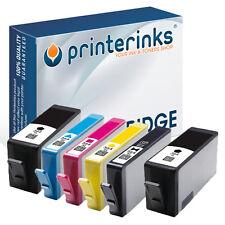 6 Non OEM HP 364XL Printer Ink Cartridges Chipped Photosmart Premium 7510 7520