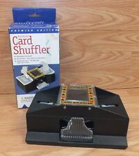 Genuine Cardinal Automatic Card Shuffler For 1 or 2 Decks Completely **READ**