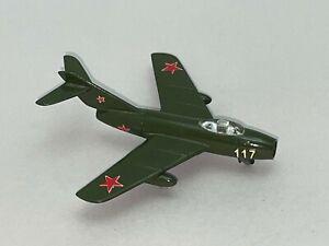 Very Nice Vintage TEKNO of Denmark Diecast Toy Metal MIG-15 Soviet Fighter Jet
