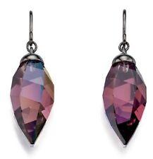 Hook Crystal Marquise Costume Earrings