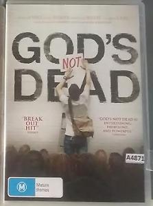 God's Not Dead DVD Gods R0 - all regions