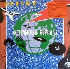"7"" 1984 fête culte vg + +! the world's Famous supreme team: Hey DJ"