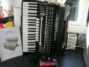 ITAILAN ACCORDION 4 VOICE 120 BASS MUSETTE WITH MIDI