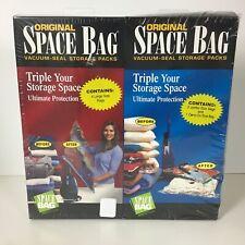 Original Space Bag Vacuum Seal Storage Packs (New sealed Package)   (0005)