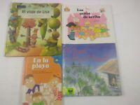 4 Spanish Books for Kids: SB4 4 libros para ninos Español Hardcover