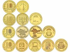 Russland 10 Rubel Krim 2011-2015 UNC Set 10 Stück