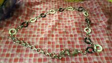 Guess Acrylic and Metal chain belt