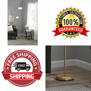 "Gold 72"" Floor Lamp Light Stand (We Cannot Ship To Homes State Of California)"