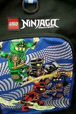"""Lego Ninjago 16"""" Backpack 4 Ninjas Bag School Travel Kai Jay Cole Lloyd"""