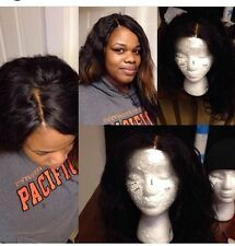 CUSTOM U-Part/Full Wig Making SERVICE Virgin Hair Extensions