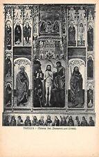 Cartolina Taggia Chiesa dei Domenicani Battesimo di Gesù