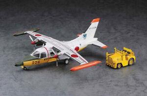"Hasegawa 1/72 Mitsubishi MU-2A ""AIR Rescue Wing"" w/Tractor"