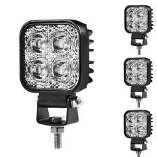 4X 12W LED Work Bar Flood Spot Lights Driving Lamp Car Truck SUV LKW 12V IP65