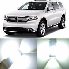 Alla Lighting Front Signal Light 3157 White LED Bulb for 14~17 ~09 Dodge Durango