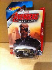 Hot Wheels Diecast-Marvel Avengers Edad de Ultron-Nick Fury-Ultra Rage