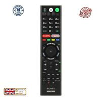 Genuine Sony RMF-TX300E RMFTX300E Remote Control with Netflix Google Play Keys