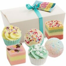 BRUBAKER Boules de bain 'Sweets for my Sweet' 6 Pièces Coffret Cadeau Friandises
