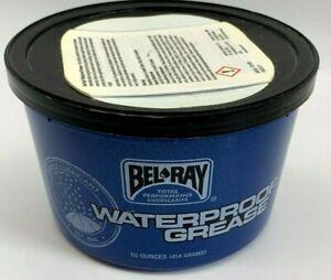NEW BEL RAY Blue Waterproof Grease Tub 16 OZ ATV UTV Motorcycle Dirt Bike Belray