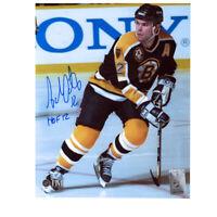 ADAM OATES signed Boston Bruins 8x10 Photo HOF12 – 70505