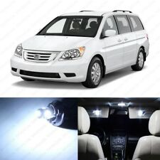 19 x White LED Lights Interior Package Kit for Honda Odyssey 2005 - 2010 + Tool