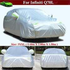 Full Car Cover Waterproof / Dustproof Car Cover for Infiniti Q70L Q70 2015-2021